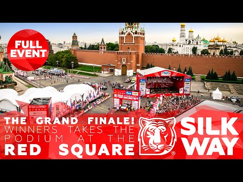 Финиш на Красной площади / Finish on the Red Square