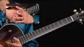 Guitar Lesson - Mimi Fox - Flying Solo - Latin Groove Breakdown