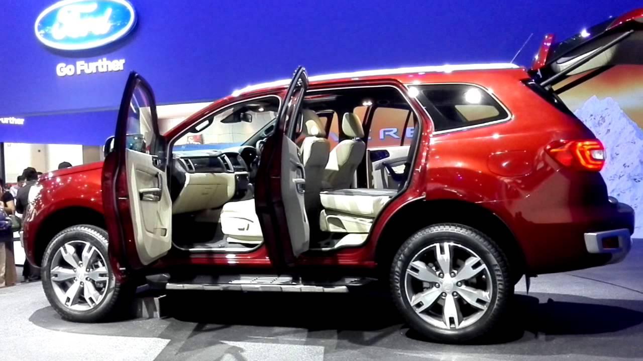 Ford Everest 2017 >> Ford Everest 2015 Bangkok Motor Show - YouTube
