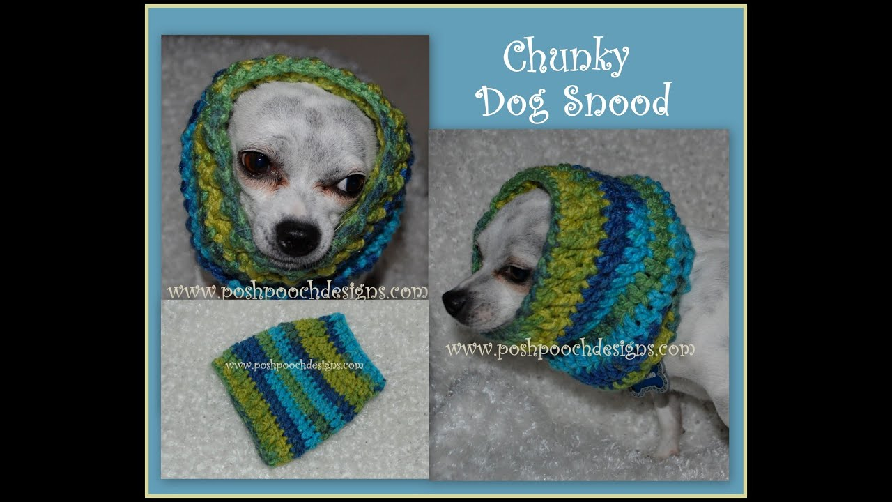 Crochet dog snood for any size dog youtube bankloansurffo Images