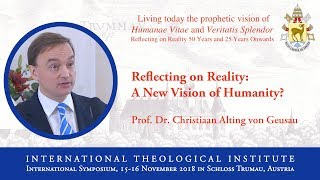 ITI International Symposium - Prof. Dr. Christiaan Alting von Geusau (1/16)