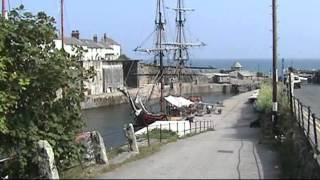 The Pirates of Penzance film location, Charlestown, Cornwall