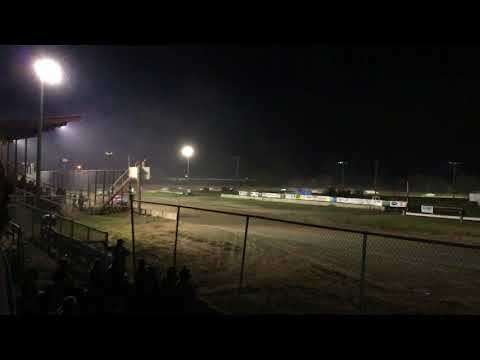 Chris & Colin Heim IMCA Stock Car Dawson County Raceway 8 26 18