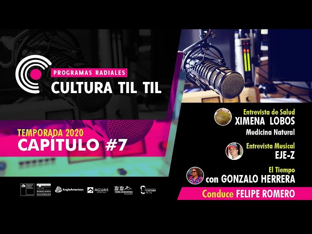 Programas Radiales Cultura Til Til (capitulo 7 ) 03/07/2020