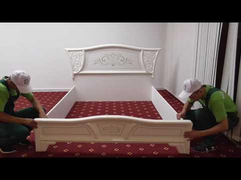 Спальня ВИНТАЖ. Как собрать кровать.