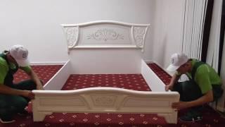видео Сборка мебели для спальни