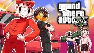 NOGLA VERSUS VANOSS IN THE OFF-SEASON! (GTA 5 Online Funny Moments)