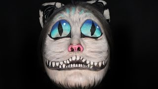 Cheshire Cat Face Paint Tutorial