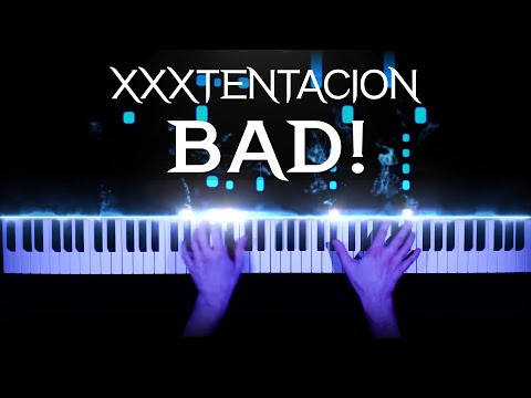 XXXTENTACION - BAD! - piano cover | tutorial | how to play