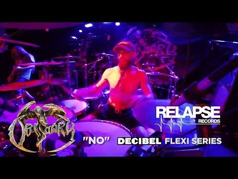 """OBITUARY - """"No"""" (Digital Bonus Track) [Drum Playthrough]"""