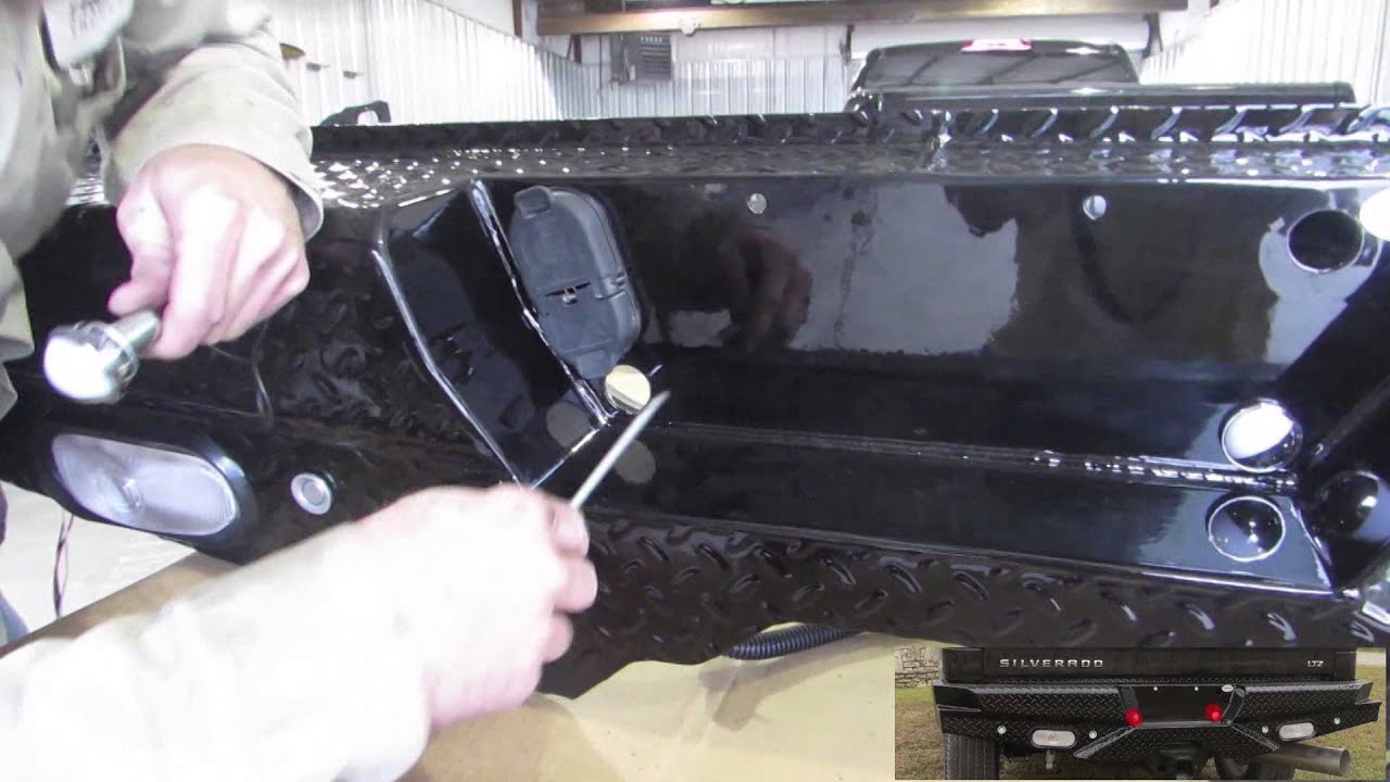Frontier Back Bumper Replacement 2015 Chevy Silverado 2500 ...