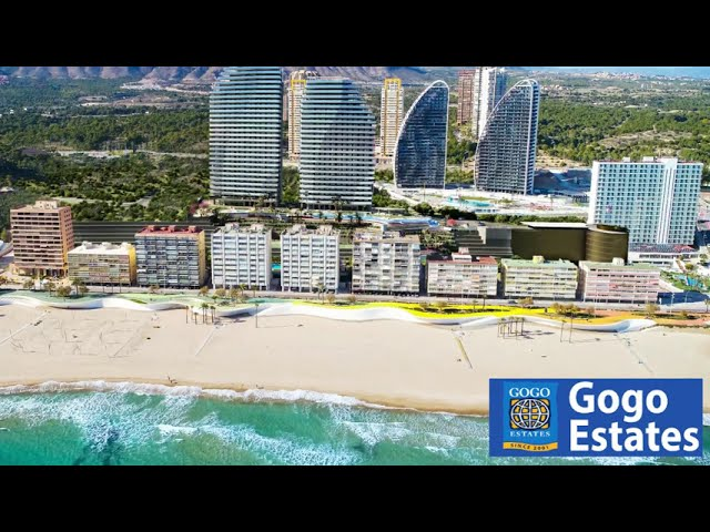 Apartments in Benidorm, Playa Poniente