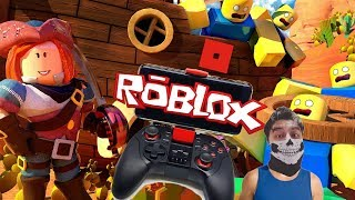 how to configure ROBLOX with your gamepad