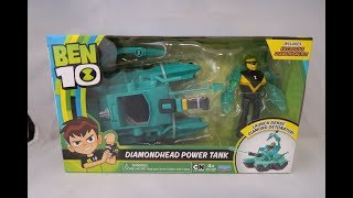 Diamondhead Power Tank Review (Ben 10 Reboot)