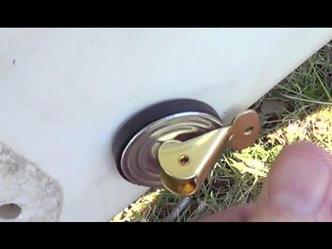 Diy Guide 2 Boat Drain Tube Tutorial Doovi