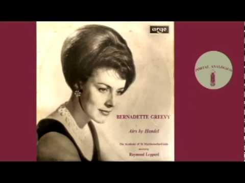 HANDEL ARIAS   BERNADETTE GREEVY  Contralto