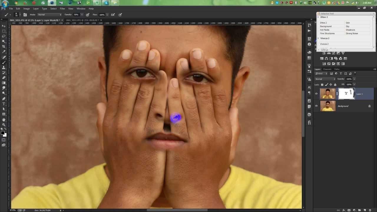 I Use Satin Hands Face