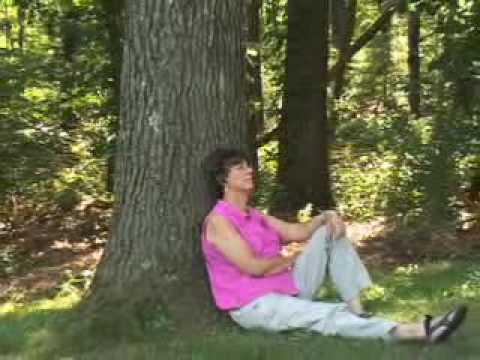 The Virginia Thurston Healing Garden Youtube