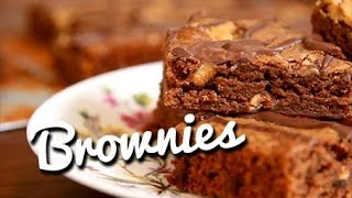 Peanut Butter Chocolate Brownies - Crumbs