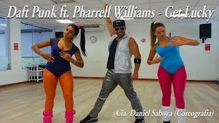 Daft Punk ft. Pharrell Williams - Get Lucky Cia. Daniel Saboya (Coreografia)