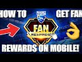 How To Get ROCKET LEAGUE FAN REWARDS on Mobile! iOS & Android