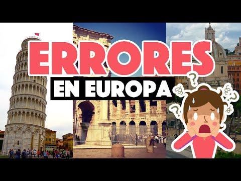 Errores Más Comunes Al Viajar A Europa Por Primera Vez