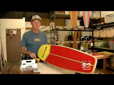 Huntington Beach Shop Releases Special Skateboard In Memory Of Hero Lifeguard