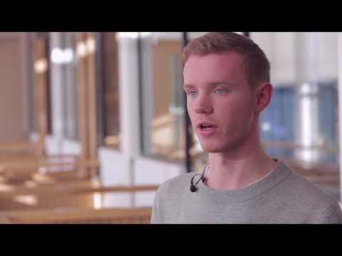 Charlie talks about his first year studying Applied Social Sciences