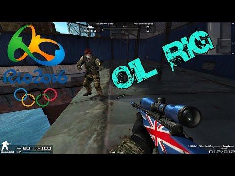 Combat Arms - Olimpíadas Rio 2016 #8 Oil Rig !