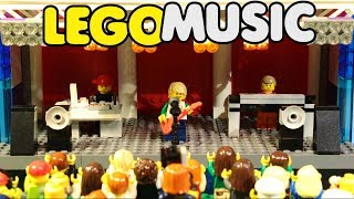 Lego Music: You're Beautiful…but Never Say Never / Лего музыка