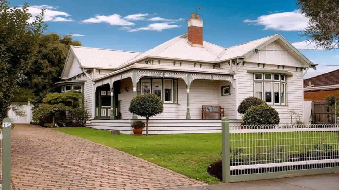 Edwardian house style guide youtube for Australian home design software