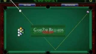 GAMEZER  billiards pool 10-0 ΔрюĶаŤξль