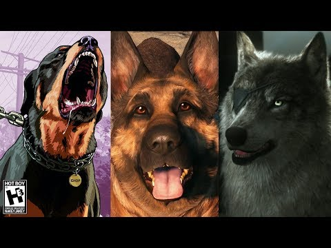 Dogs in Video Games