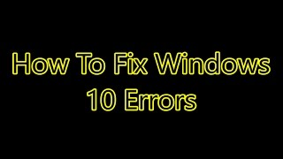 How To Fix Screen