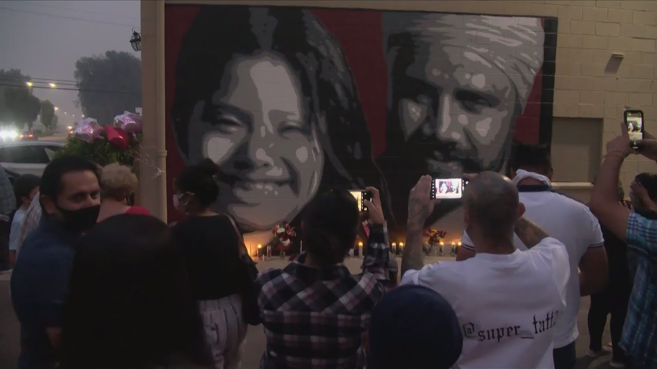 KSEE 24 News Dozens celebrate lives of Manjit Singh and Samantha Cruz-Pedro at candlelight vigil