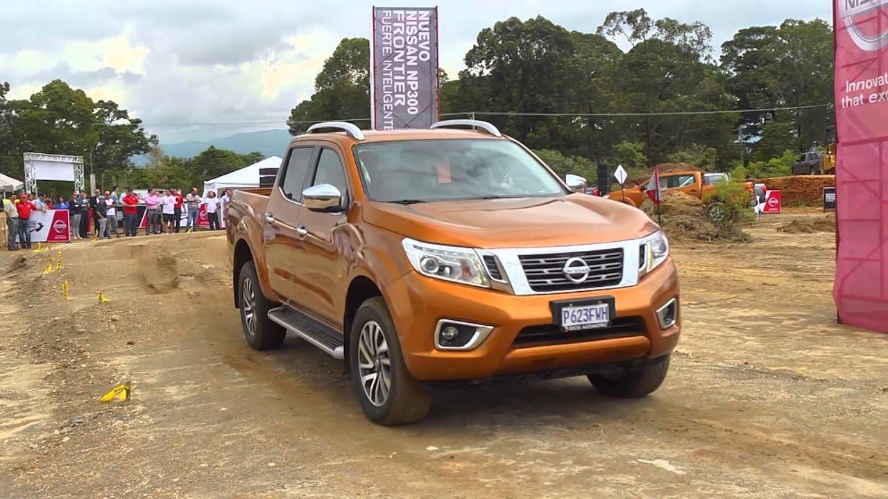 Lanzamiento en guatemala de la nueva nissan frontier np300 2015 tsr youtube