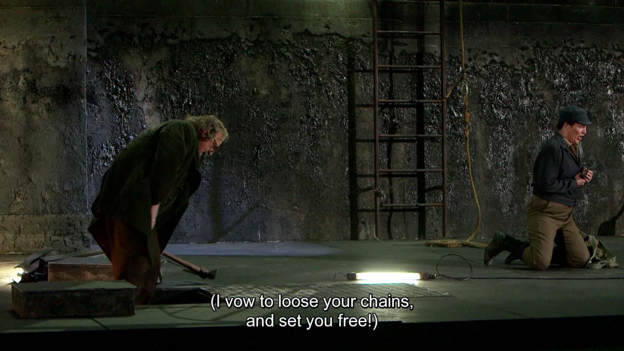 """Fidelio: """"Nur hurtig fort, nur frisch gegraben"""""""
