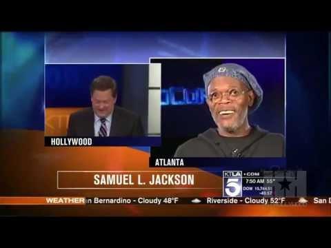 KTLA Reporter Mistakes Samuel L. Jackson for Laurence Fishburne
