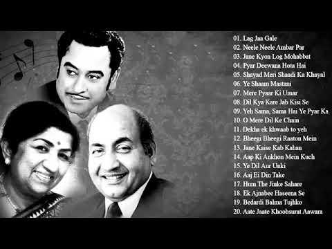 Best Muhammad Rafi - Kishore Kumar - Lata Mangeshkar Hindi Song 2019 Old Sad 90's Evergreen