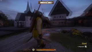 Kingdom Come: Deliverance - Knock out animation glitch.