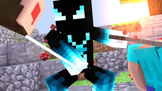 Minecraft: TREINANDO O NOVO PVP!! - Kit PvP 1.9
