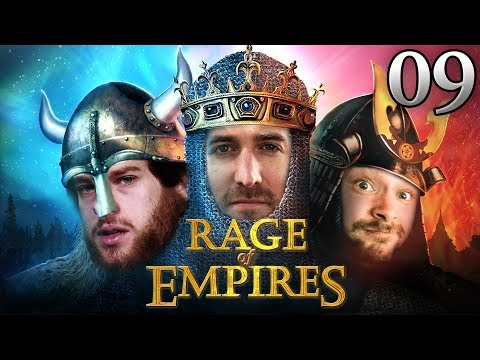 Rage Of Empires mit Florentin, Donnie, Marco & Marah #09 | Age Of Empires 2 HD