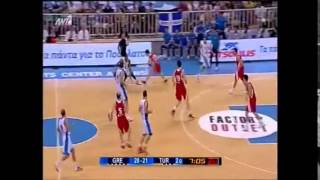 Giannis Antetokounmpo Full highlights vs Turkey 20-08-2014 (first domestic game with Greece)