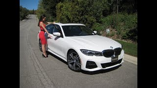 "New 2019 BMW 330i M Sport Package / Exhaust Sound / 19"" M  wheels / BMW Review"