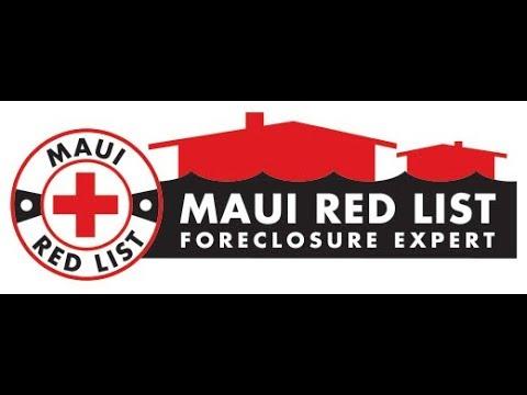 Foreclosure Auction Maui Hawaii 9/29/2017 30 Puakala Place Kahului HI 96732