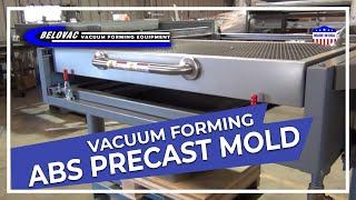 Vacuum forming ABS Precast Mold