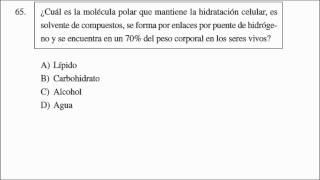 7.EXAMEN MUESTRA CENEVAL  Ciencias Naturales  Biología, Química y Física Primera Parte