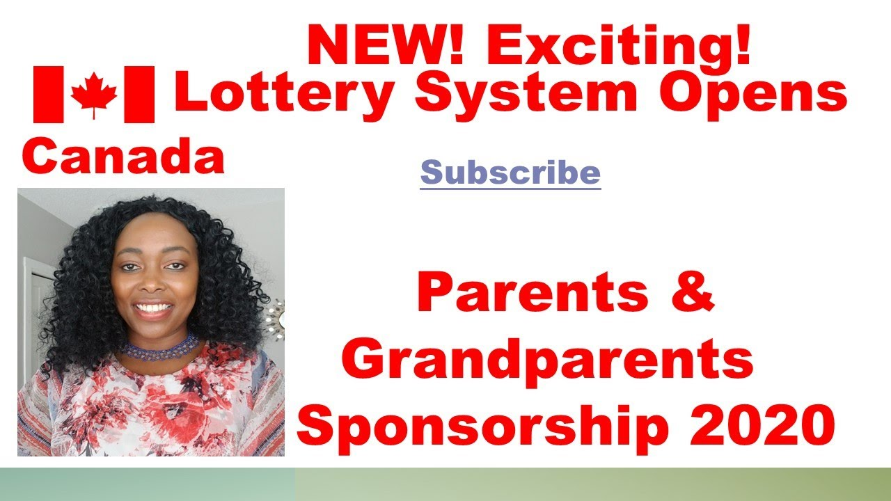 Opens Oct 13 Parents And Grandparents Sponsorship Canada 2020 Youtube