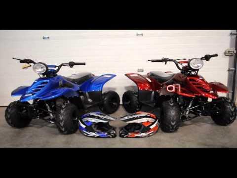 Fourwheelers For Sale >> TaoTao 110cc Gas Powered Small Kids four wheelers for Sale | Q9 PowerSports - YouTube
