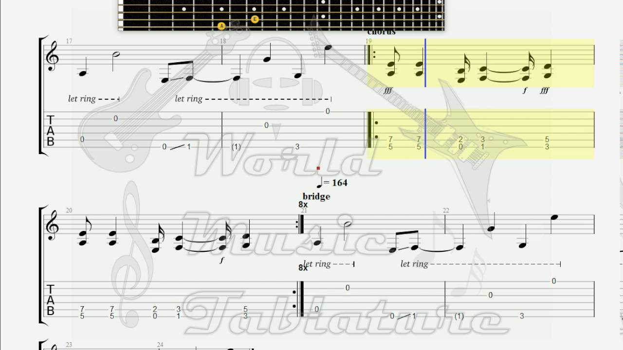 Cypress Hill Trouble Guitar 1 Tab Youtube